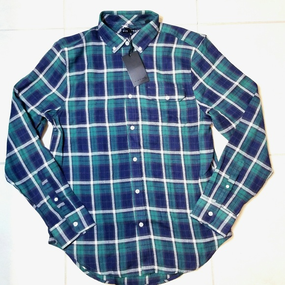 Five Four Other - Five Four Plaid Button Down Shirt Long Sleeve
